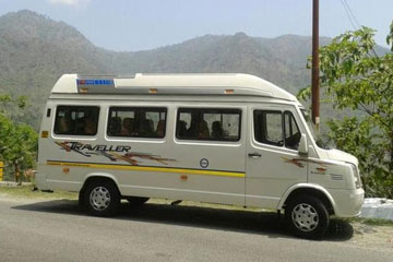 17 Seater Tempo Traveller Rentals